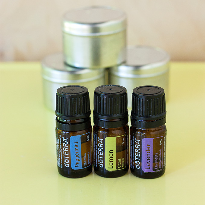 Picture Of diy allergy relief balm with almond and coconut oils  3