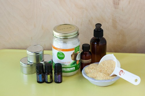 DIY Allergy Relief Balm With Almond And Coconut Oils
