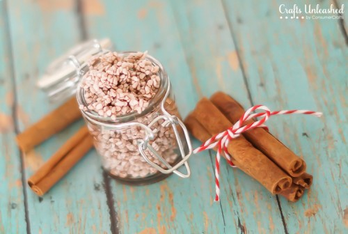 cinnamon foot scrub (via craftsunleashed)