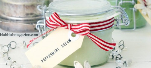 peppermint foot cream (via blahblahmagazine)