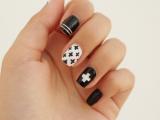 diy-black-and-white-swiss-cross-nail-art-3