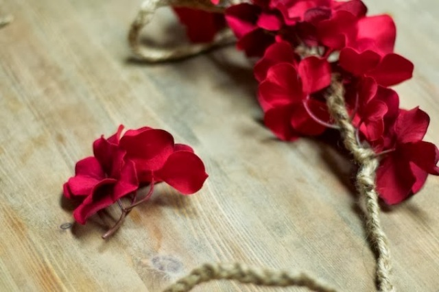 Picture Of diy bohemian flower headband  2