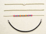 diy-boho-chic-bracelet-with-beads-and-chain-3