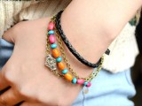 diy-boho-chic-bracelet-with-beads-and-chain-5