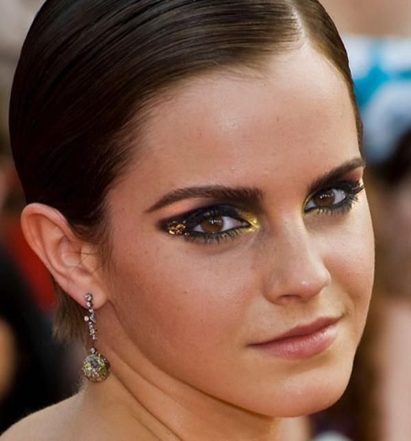 Picture Of diy bold emma watsons smokey eye makeup  1