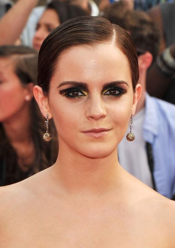 Picture Of diy bold emma watsons smokey eye makeup  2