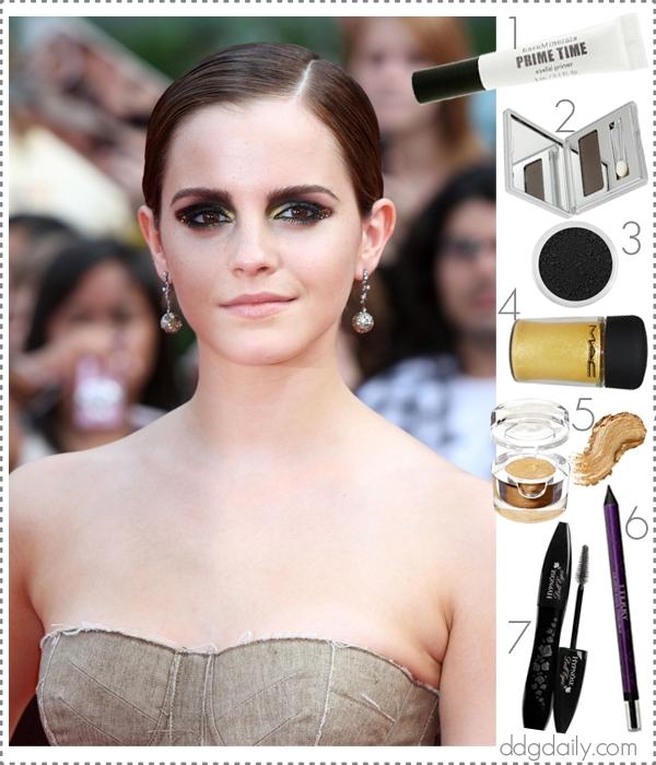 Picture Of diy bold emma watsons smokey eye makeup  3