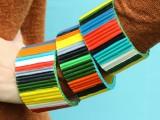 diy-bold-recycled-magazine-bracelets-2