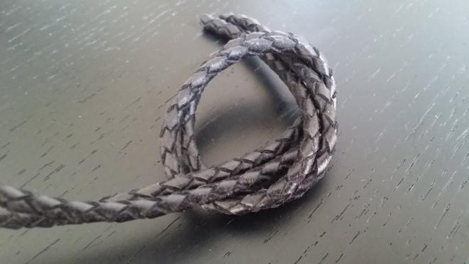Picture Of diy bottega veneta inspired knot bracelet  3