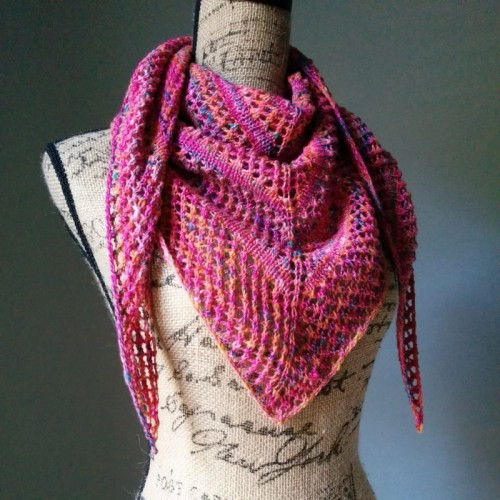 DIY Casual Lace Knit Shawl For Cold Weather