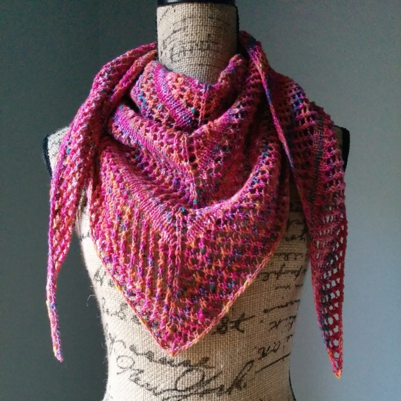Picture Of diy casual lace knit shawl  2