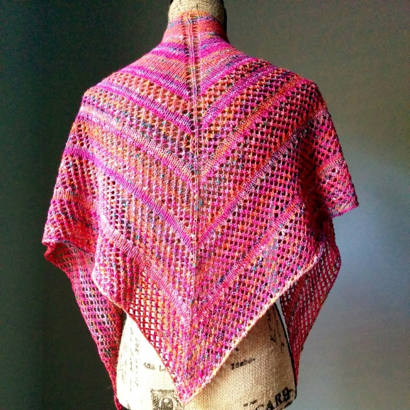 Picture Of diy casual lace knit shawl  3