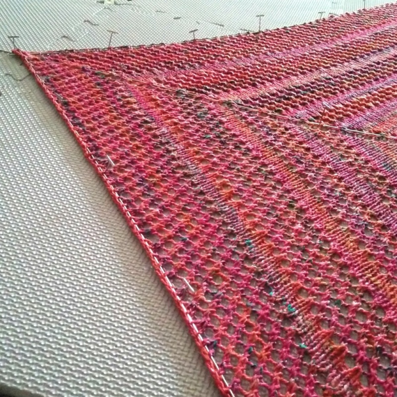 Picture Of diy casual lace knit shawl  4