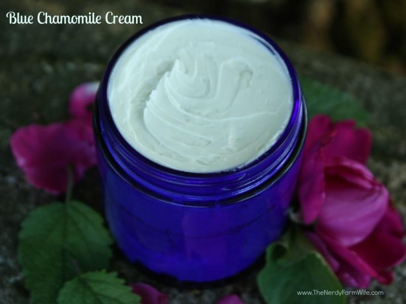 blue cahmomile face cream