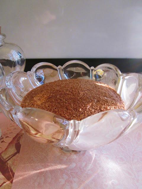 chocolate bath salts