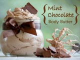 mint chocolate whipped body butter