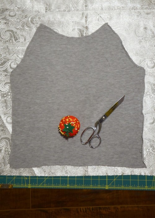 DIY Contrasting Raglan Sweatshirt Refashion