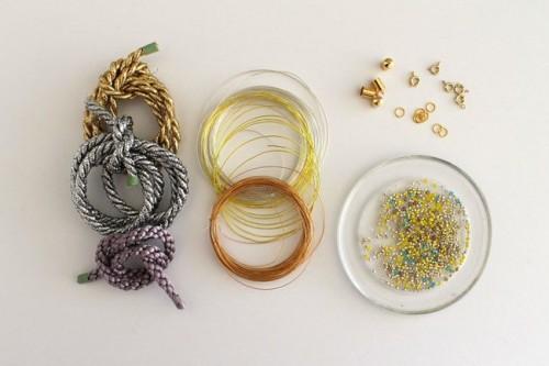 DIY Cord Bead Bracelet