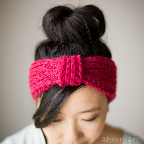 DIY Crocheted Triple Luxe Headband