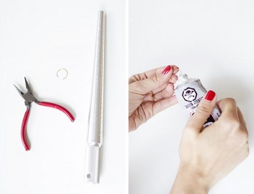 DIY Delicate Pearl Knuckle Rings