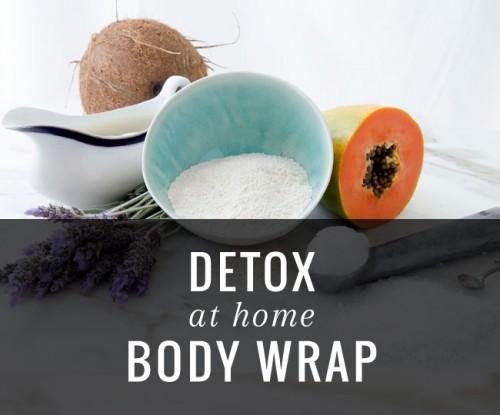 DIY Detox Body Wrap With Papaya And Lavender