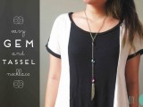 diy-easy-gem-and-tassel-necklace-1