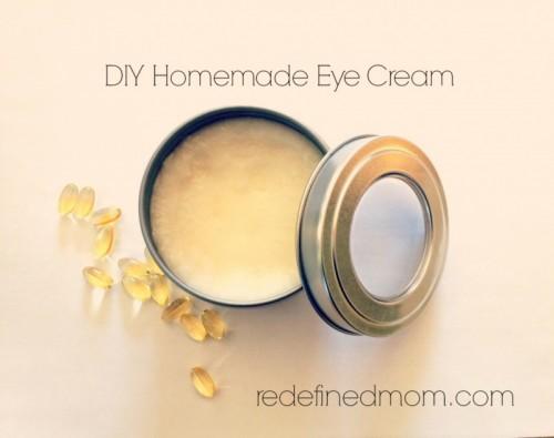 simple anti aging eye cream (via redefinedmom)