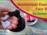 foaming face wash for radiant skin