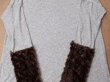 diy-furry-cuffed-t-shirt-for-fall-and-winter-5