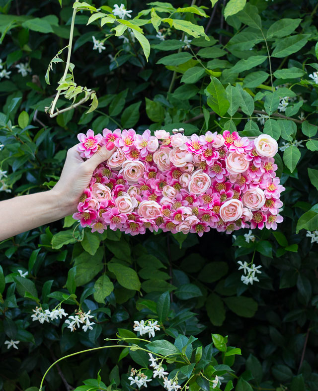 Picture Of diy girlish flower summer purse  2