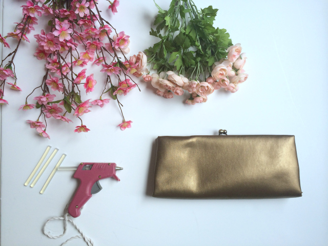 Picture Of diy girlish flower summer purse  3