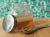 coconut honey hair mask