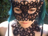 DIY Tatted Mask