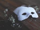 DIY Beaded Halloween Mask