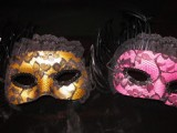 DIY Lace Halloween Mask