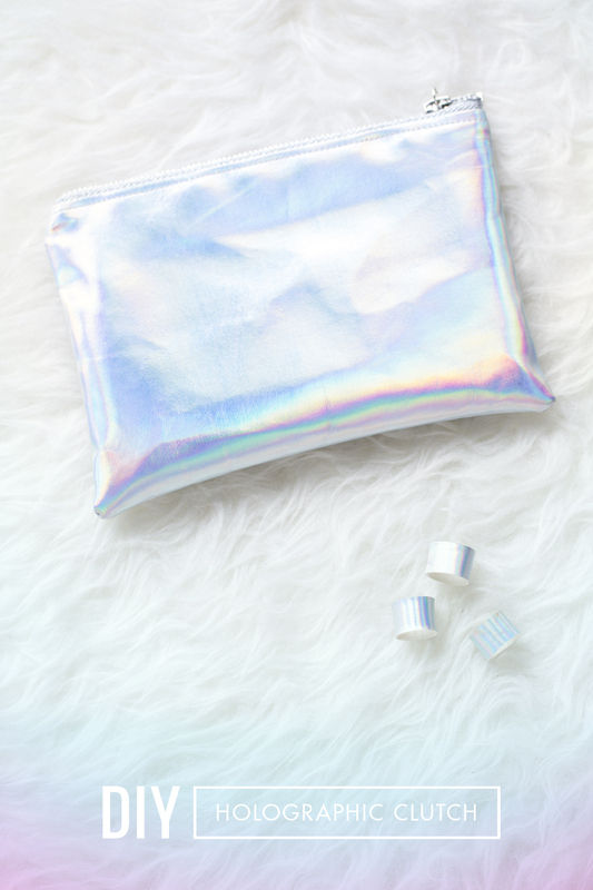 Picture Of diy holographic clutch to travel with style  5