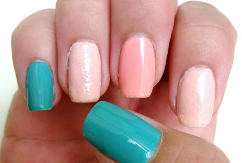 Picture Of diy ice cream love nail art design using 3d resin  2