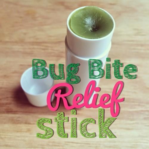 bug bite relief stick with oils (via freshpickedbeauty)
