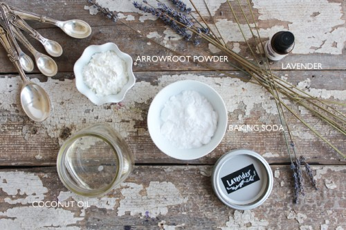 DIY Lavender Deodorant With An Adorable Smell