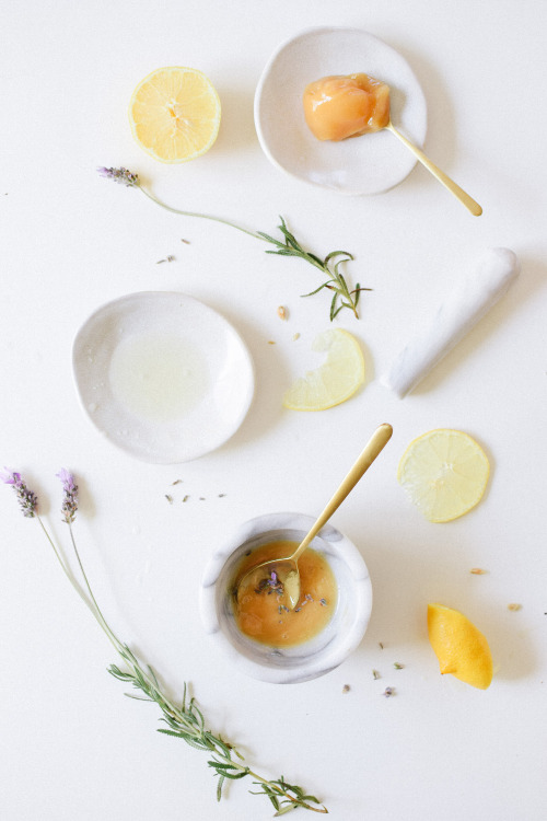 DIY Lavender Honey Face Brightening Mask