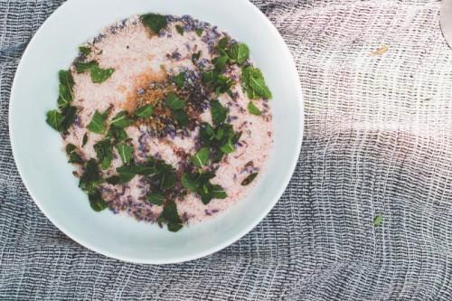 DIY Lavender Mint Himalayan Salt Scrub And Soak
