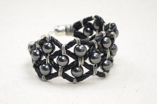 DIY Leather Cuff Bracelet For Your Boyfriend