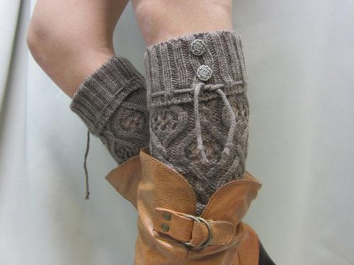 leg warmers or boot socks (via urbanthrift)