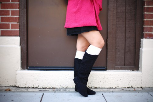 diy leg warmers (via thestyleprojects)