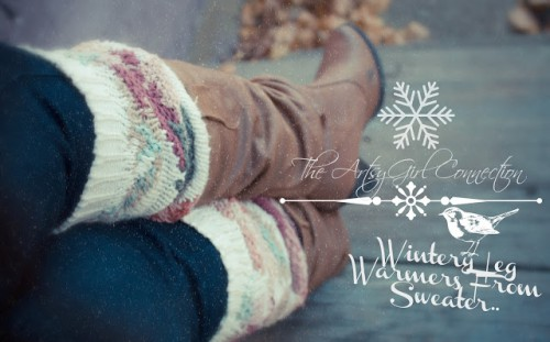 shabby leg warmers (via theartsygirlconnection)