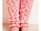 yoga knit leg warmers