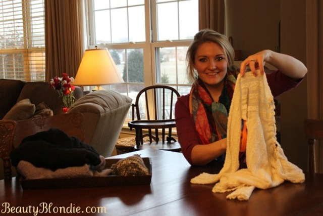 Picture Of diy leg warmers in less than a minute  4