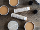 cocoa and shea butter lip balm