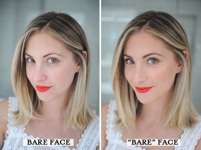 Picture Of diy makeup bare face and bold lip  5