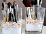 DIY Makeup Storage